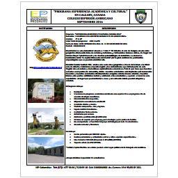 Programa  Experiencia Académica y Cultural Canadá 2016-Colegio Superior Americano 5 W OCT.pdf